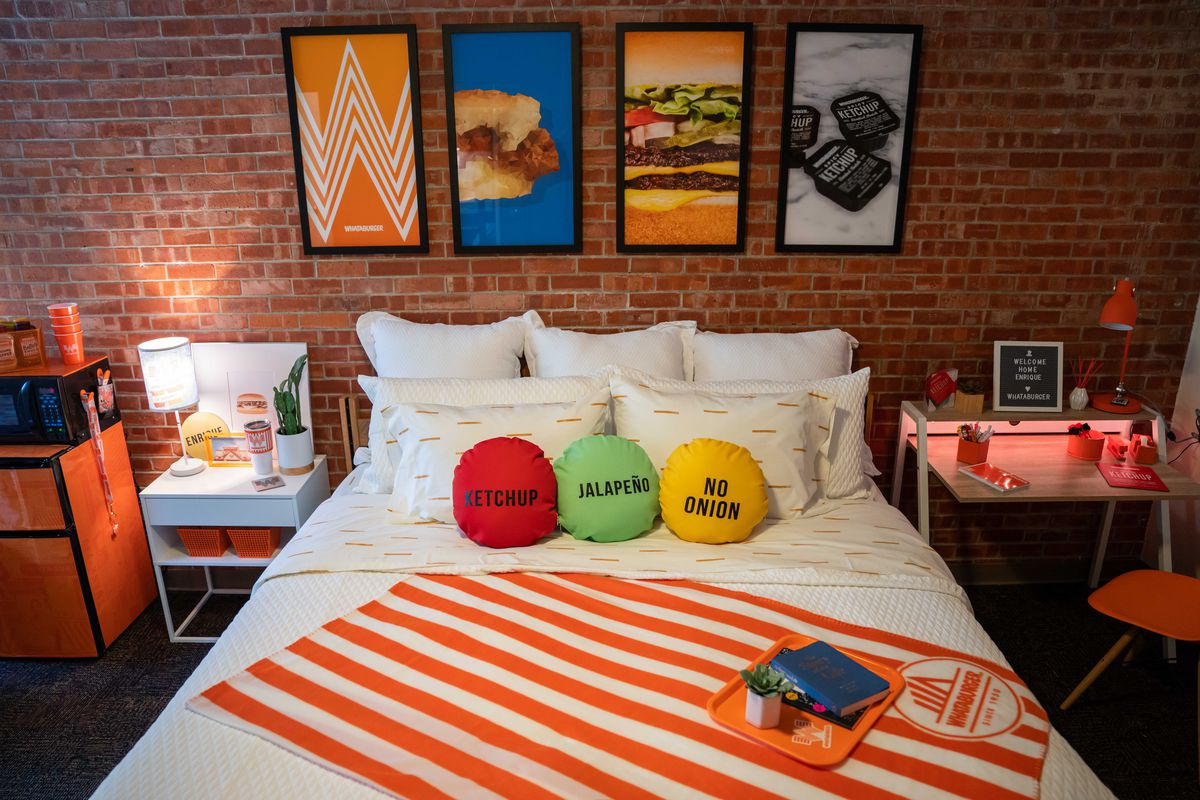 Whataburger Remodeled San Antonio College Students Dorm