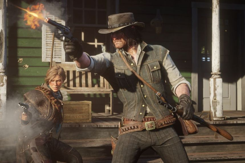 Red Dead Redemption 2 PC Shooting