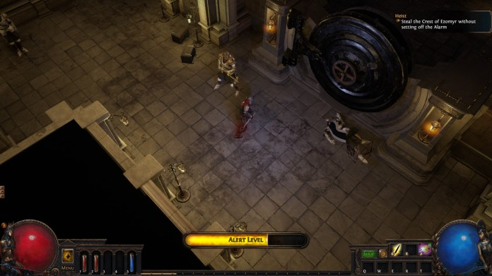 Path of Exile Heist big door