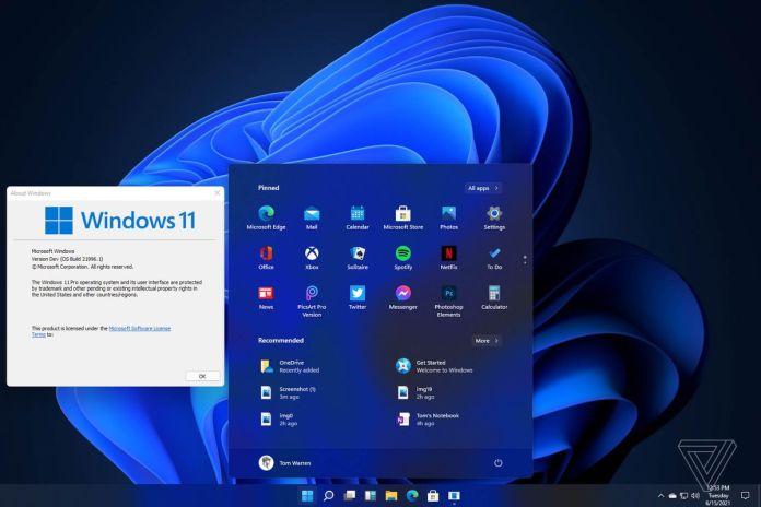 Windows 11 leak reveals new UI, Start menu, and more - The Verge