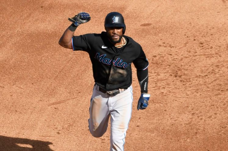 Starling Marte fractures hand in game against Cubs - MLB Daily Dish