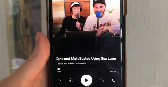 Spotify is testing video podcasts with two YouTube stars