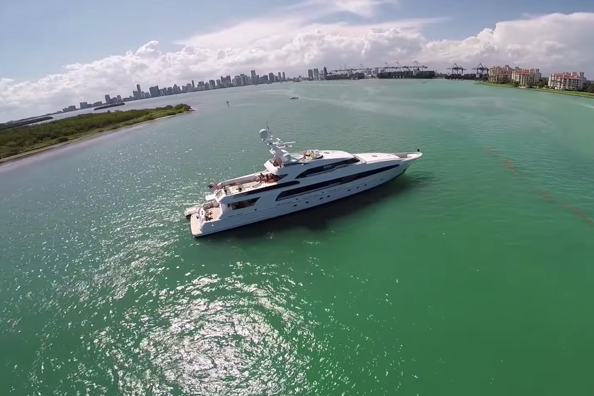 The Yacht From The Entourage Movie Is In Miami Curbed Miami