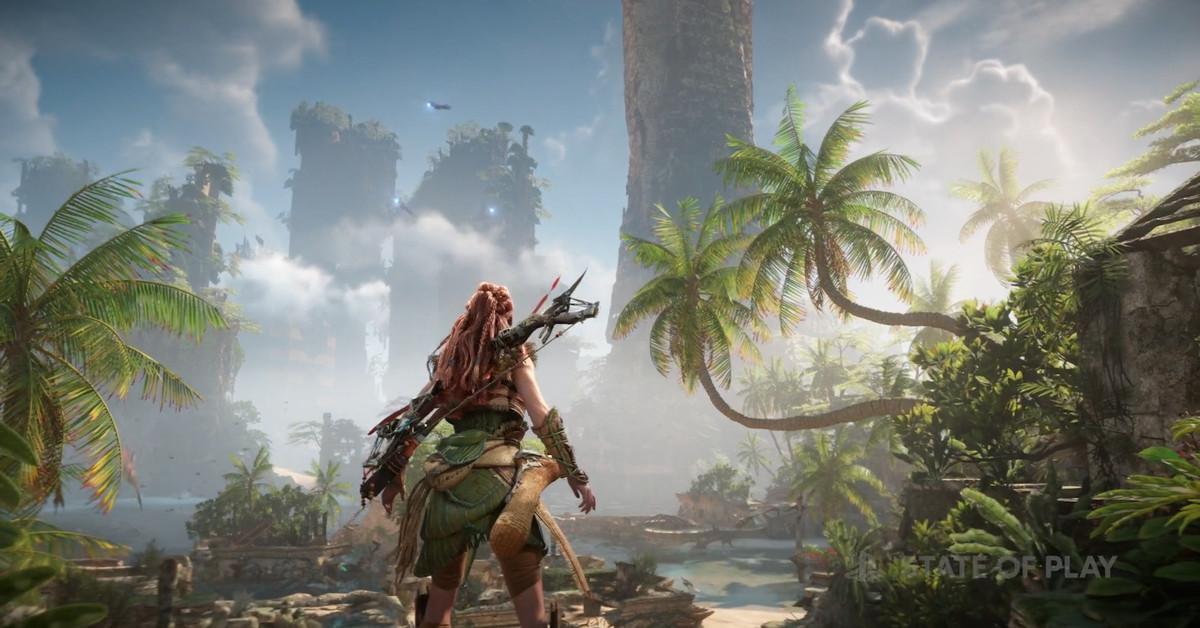 Watch 14 minutes of stunning Horizon Forbidden West gameplay
