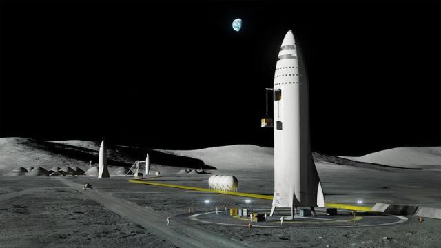 spacex moon base