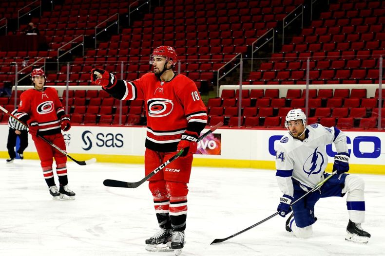 Carolina Hurricanes vs Tampa Bay Lightning Game 2: Preview and Storm  Advisory - Canes Country