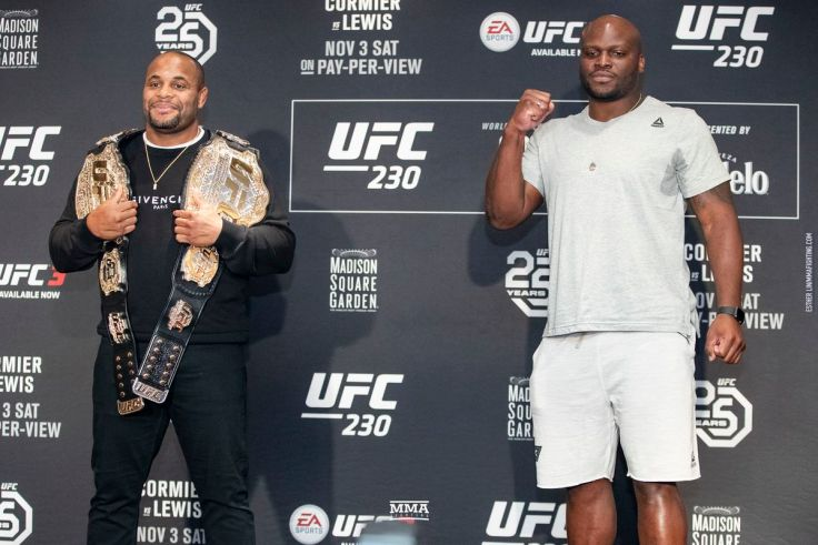 Image result for Daniel Cormier vs. Derrick Lewis