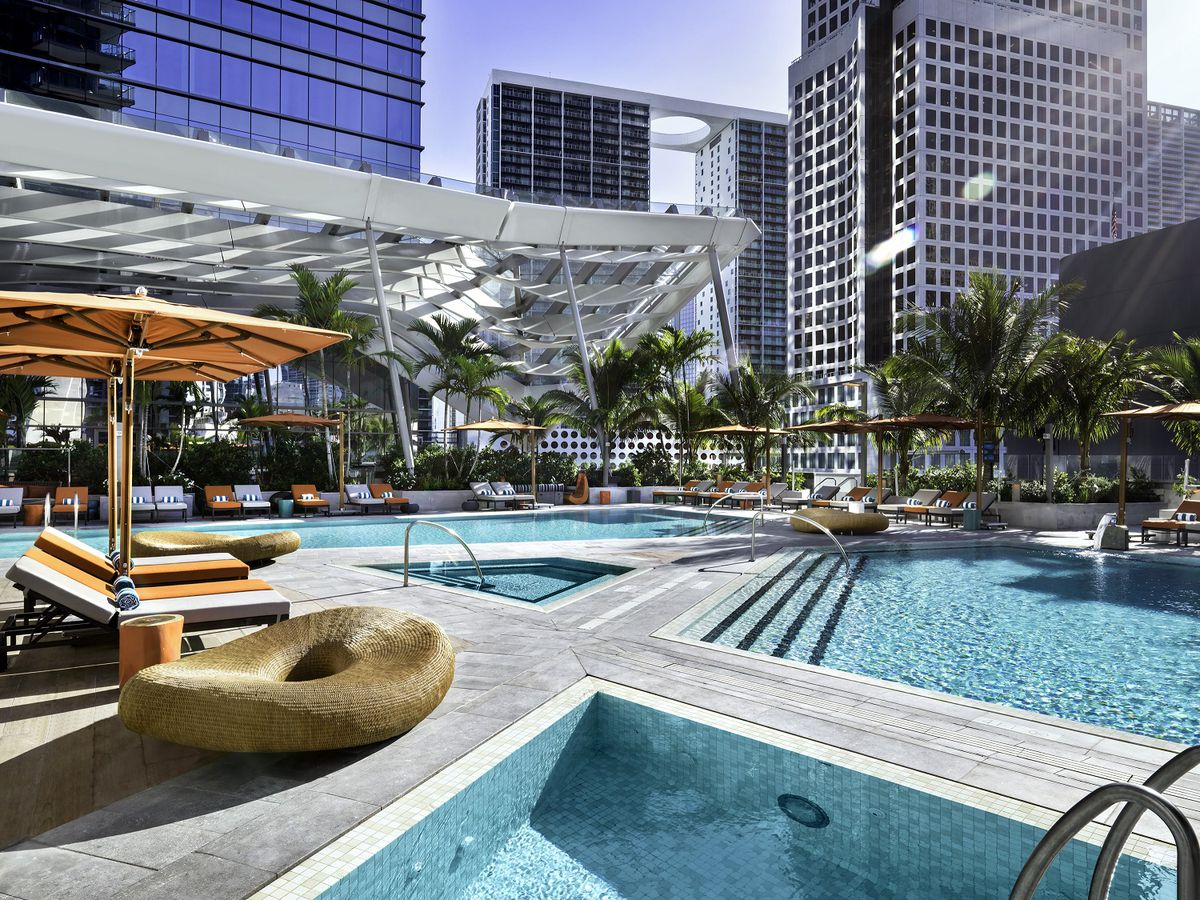 Miamis 11 Ultimate Hotel Pools Summer 2017 Curbed Miami