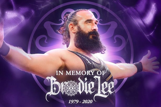Brodie Lee's 8-year-old son signed by AEW after his father's death -  SBNation.com