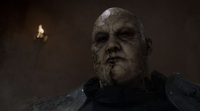 Game of Thrones S08E05 The Mountain zombie head