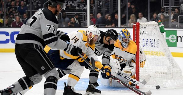 Nashville Predators 4, Los Angeles Kings 7: Kings Defeat Predators in Home Opener