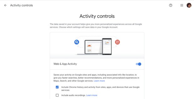 Android: Google's activity controls lets you turn off tracking.