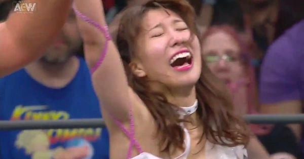 Riho is your first AEW women