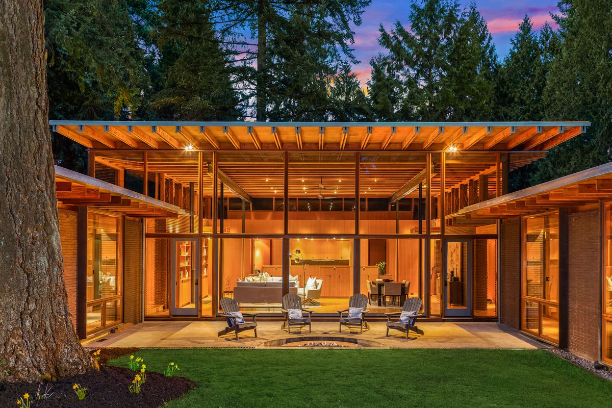 Treehouse Like Contemporary Asks 5 2m Near Seattle Curbed