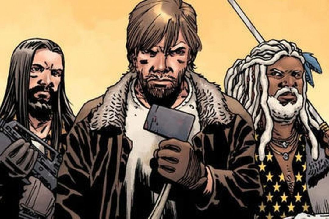 Image result for the walking dead comic