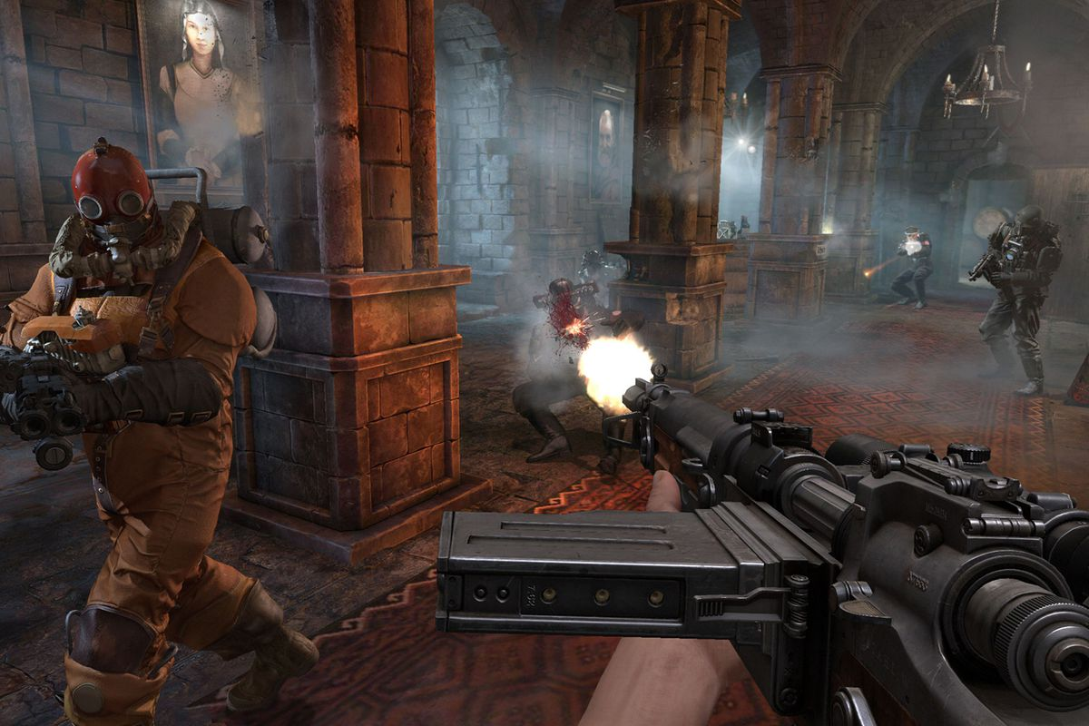 Wolfenstein The Old Blood Will Get A Physical Release In July Polygon