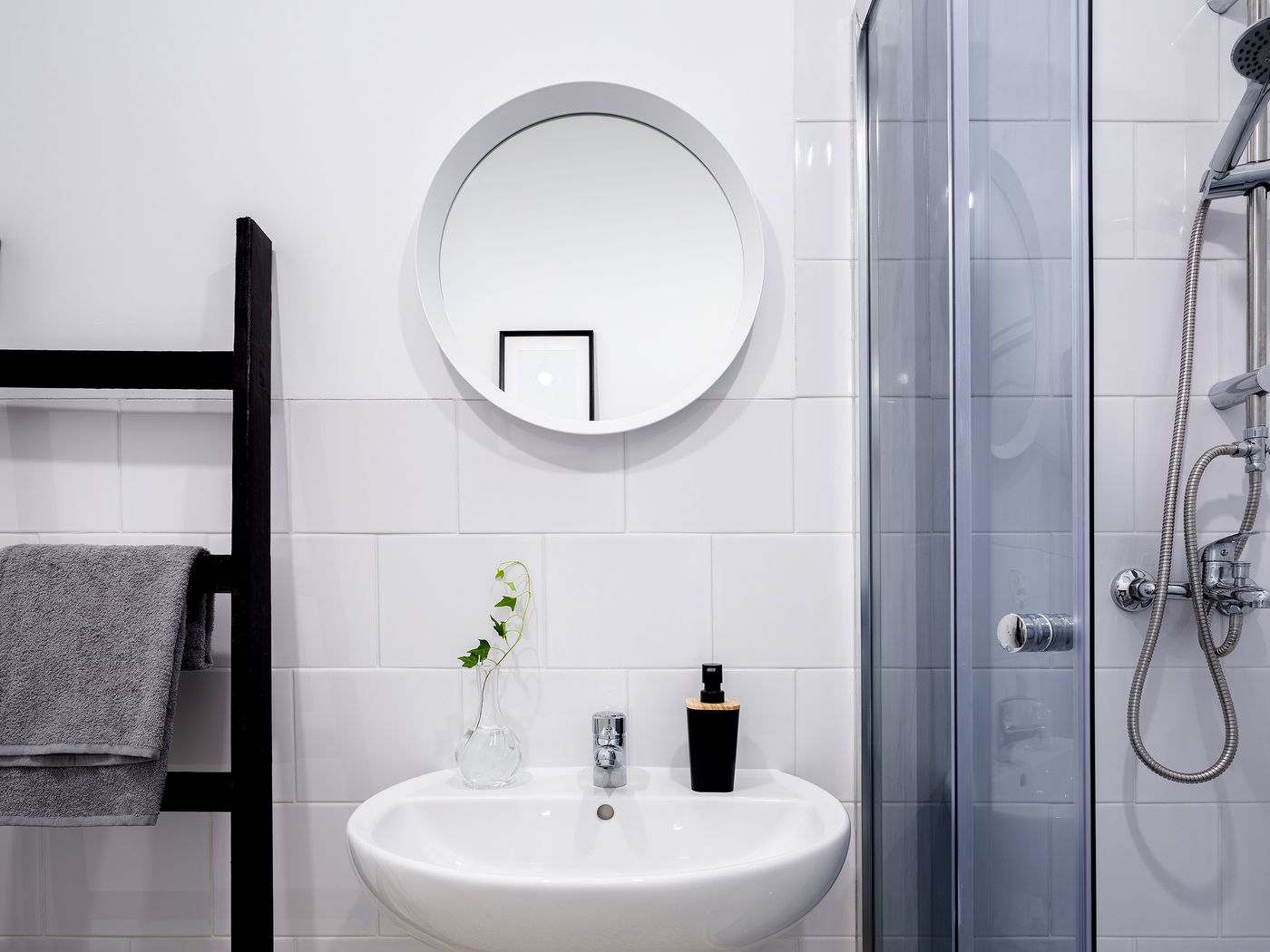 space for a small bathroom remodel