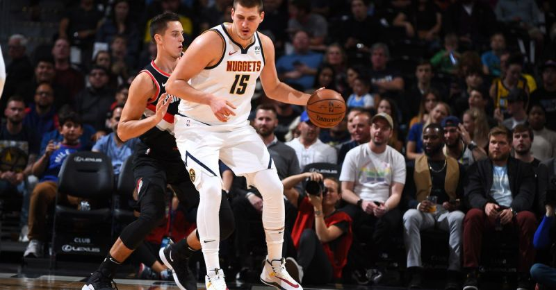Nuggets down Portland to finish preseason undefeated