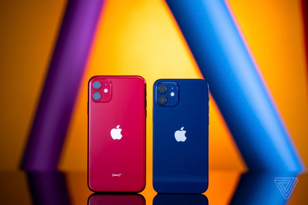 IPhone 12 nhỏ hơn đáng kể so với iPhone 11.