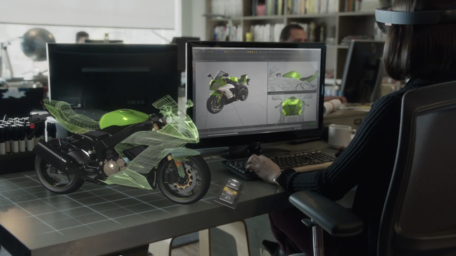 Microsofts HoloLens Team Is Obsessed With Motorcycles The Verge