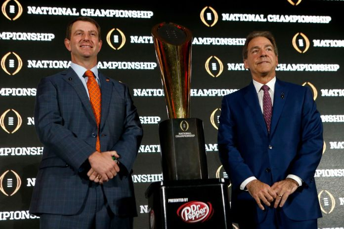 College Football Playoff - Head of Press Conference