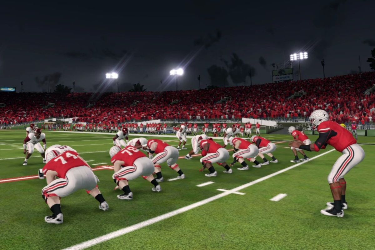 NCAA Football 14 Ohio State Roster Complete Ratings Land Grant Holy Land