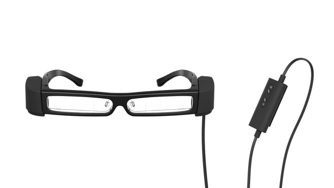 Epson Moverio BT-30C augmented reality glasses