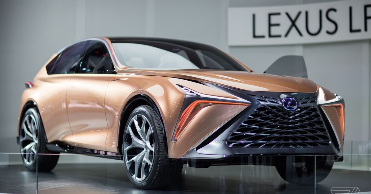 The Lexus Lf 1 Limitless Concept Is A Futuristic Rose Gold