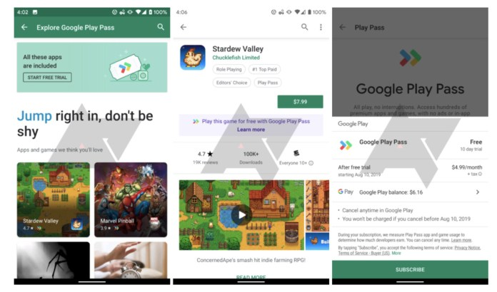 Google is testing a Play Move subscription service for premium apps and video games 1