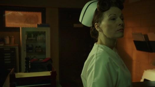 nurse ratched unlocking a door