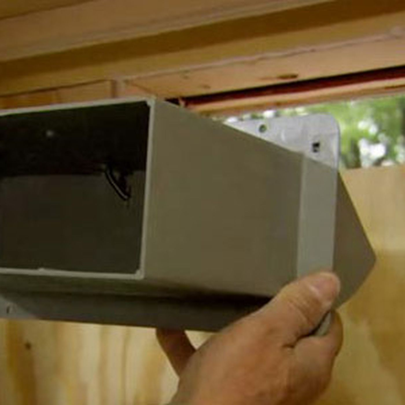 how to install a microwave hood with