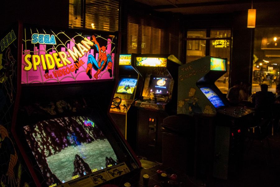 How Arcade Bars Became Boozy Playgrounds for Adults   Eater Photo courtesy of Barcade