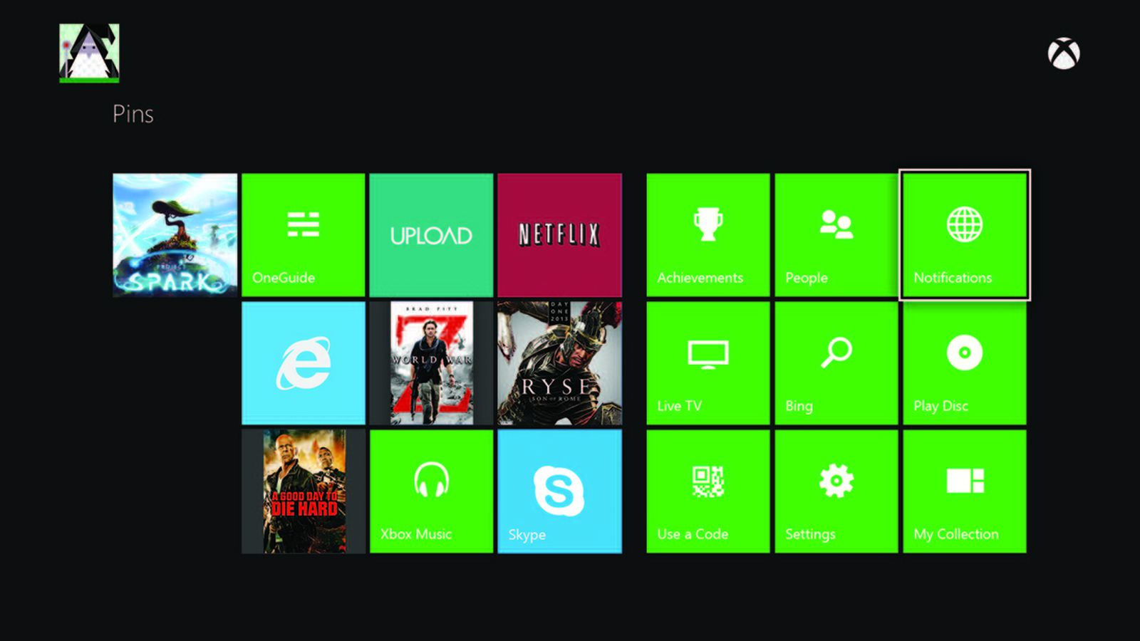 Xbox Ones Recents Home Screen Based On 360 Users Playing Habits Polygon
