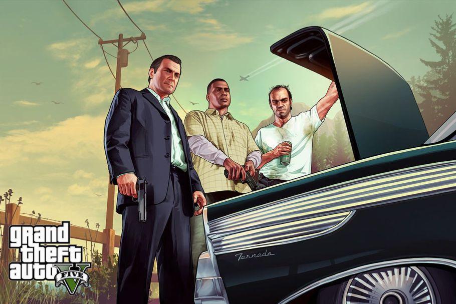Tres personajes principales de GTA5