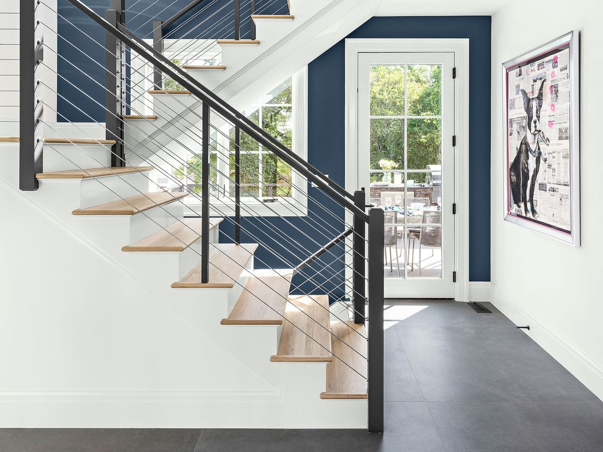 Stairs This Old House | Stair Design For Small House Outside | Small Spaces | Living Room | Wood | Handrail | House Plans