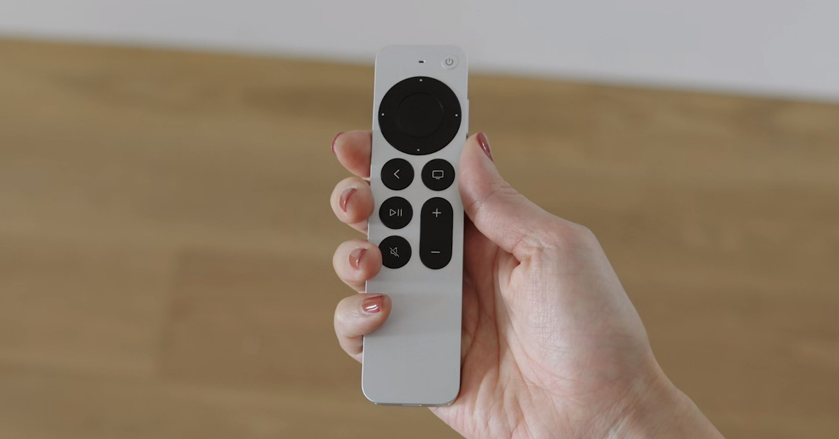 New Siri Remote waves goodbye to Apple TV games that require motion control