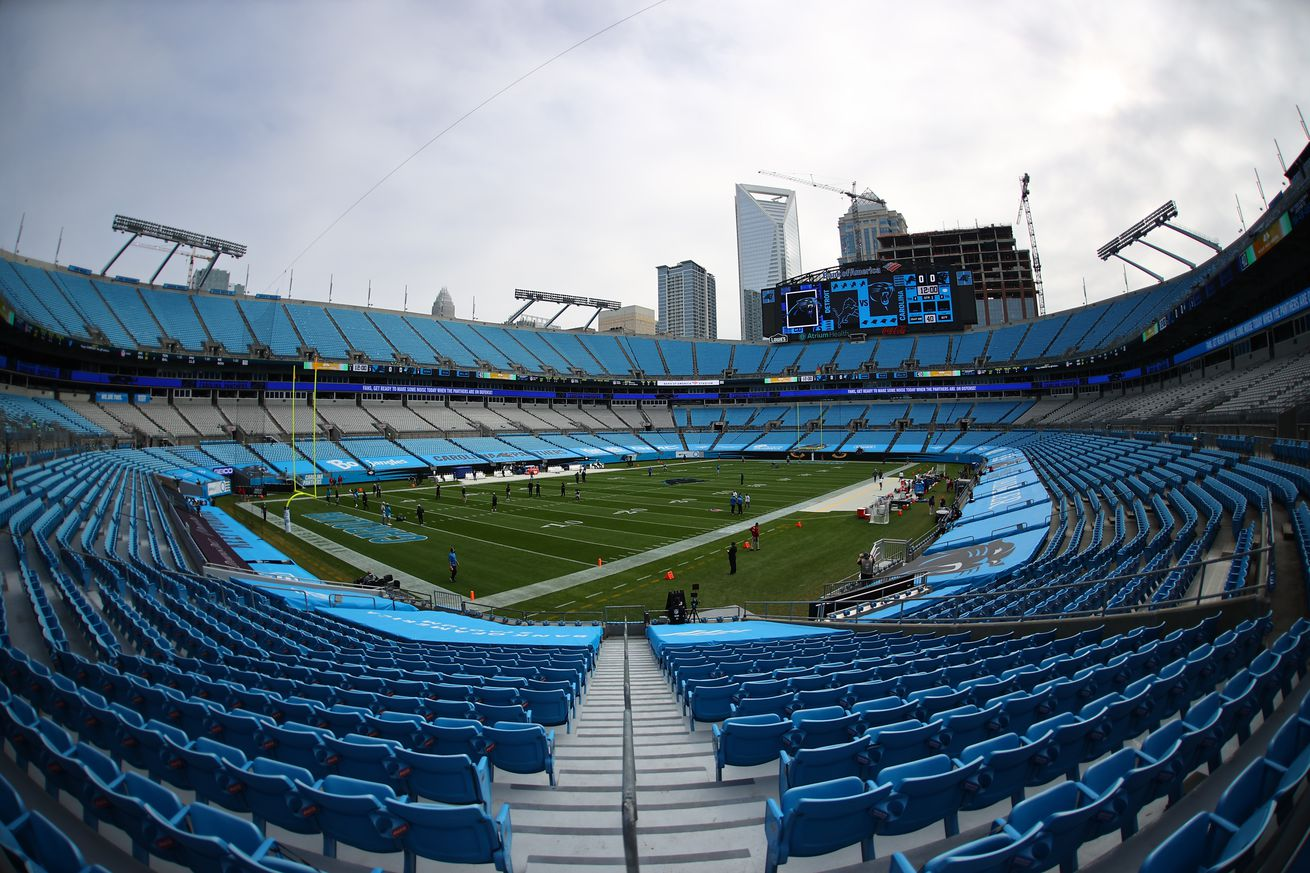 NFL: NOV 22 Lions at Panthers