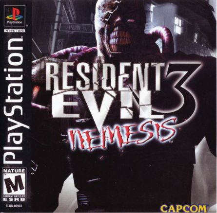 The original cover for 1999's Resident Evil 3.
