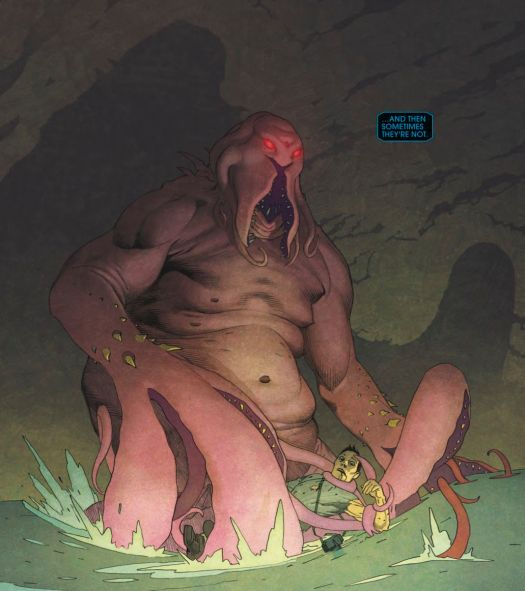 Eternals #1 (2020): The Cthulhu-like Deviant