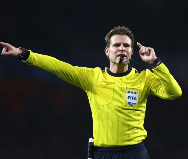 Referee Named For Uefa Champions League Final Between Real Madrid And Juventus