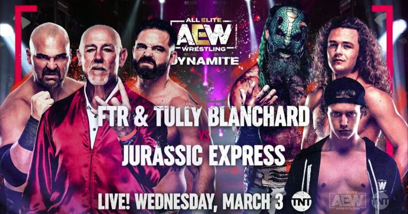 67 year old Tully Blanchard booked for match on Mar. 3 Dynamite