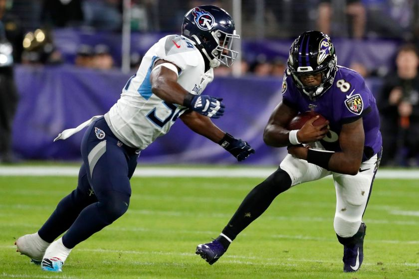Ravens vs. Titans odds: Baltimore installed as sizable second half favorite  - DraftKings Nation