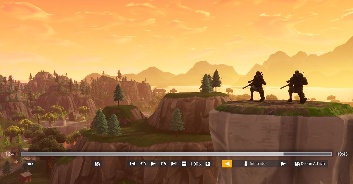 Fortnite Battle Royale S Getting Built In Replay Tools