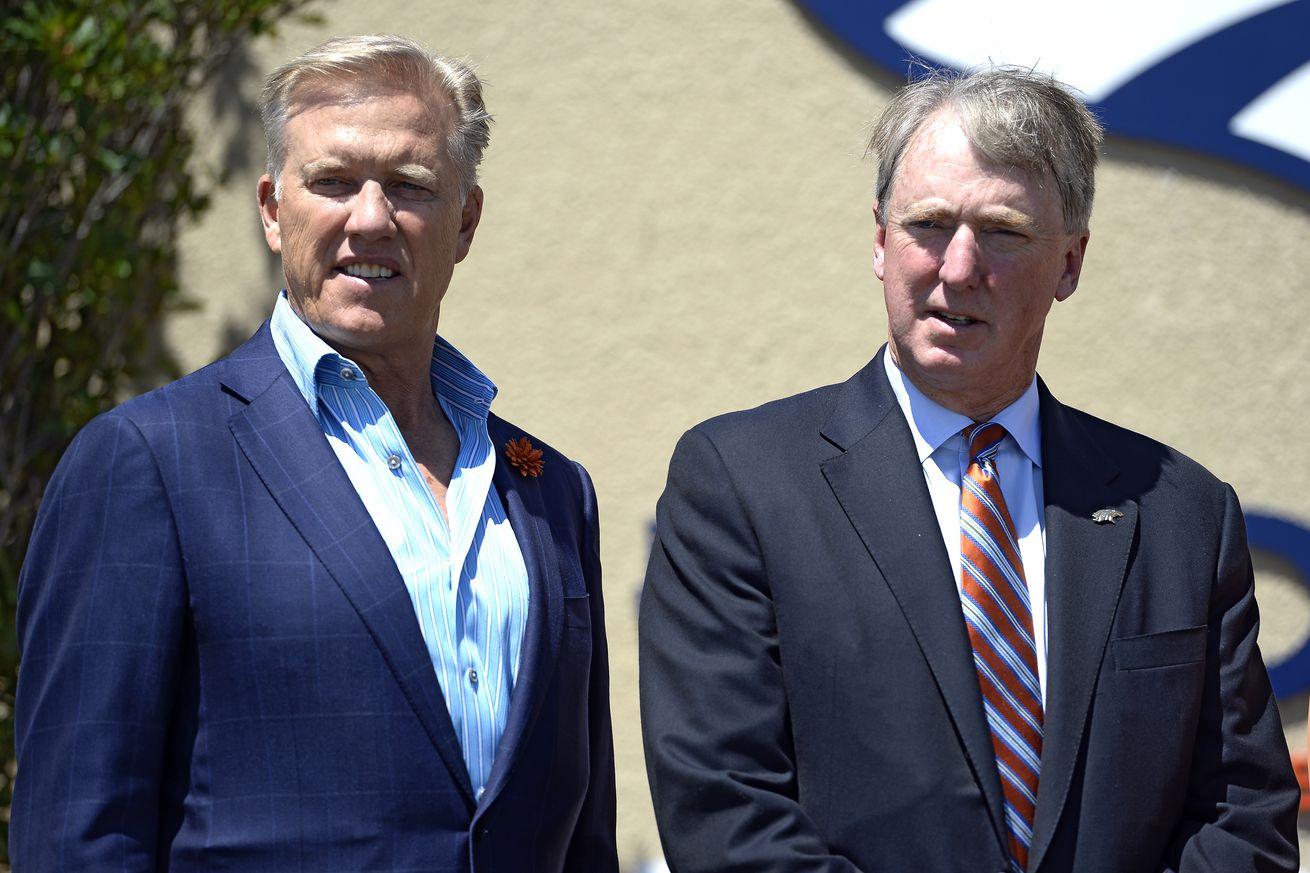 Denver Broncos media bbq at Dove Valley