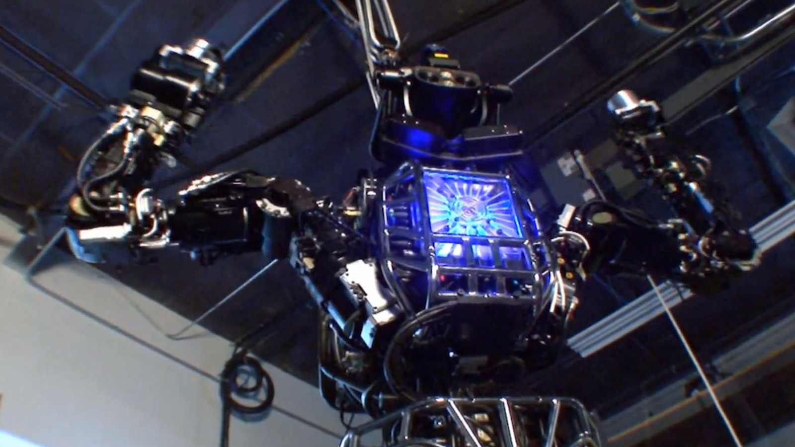 DARPA Unveils 6 Foot Tall Humanoid Robot Atlas For