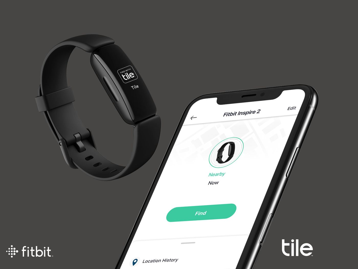 fitbit adds tile tracking feature to