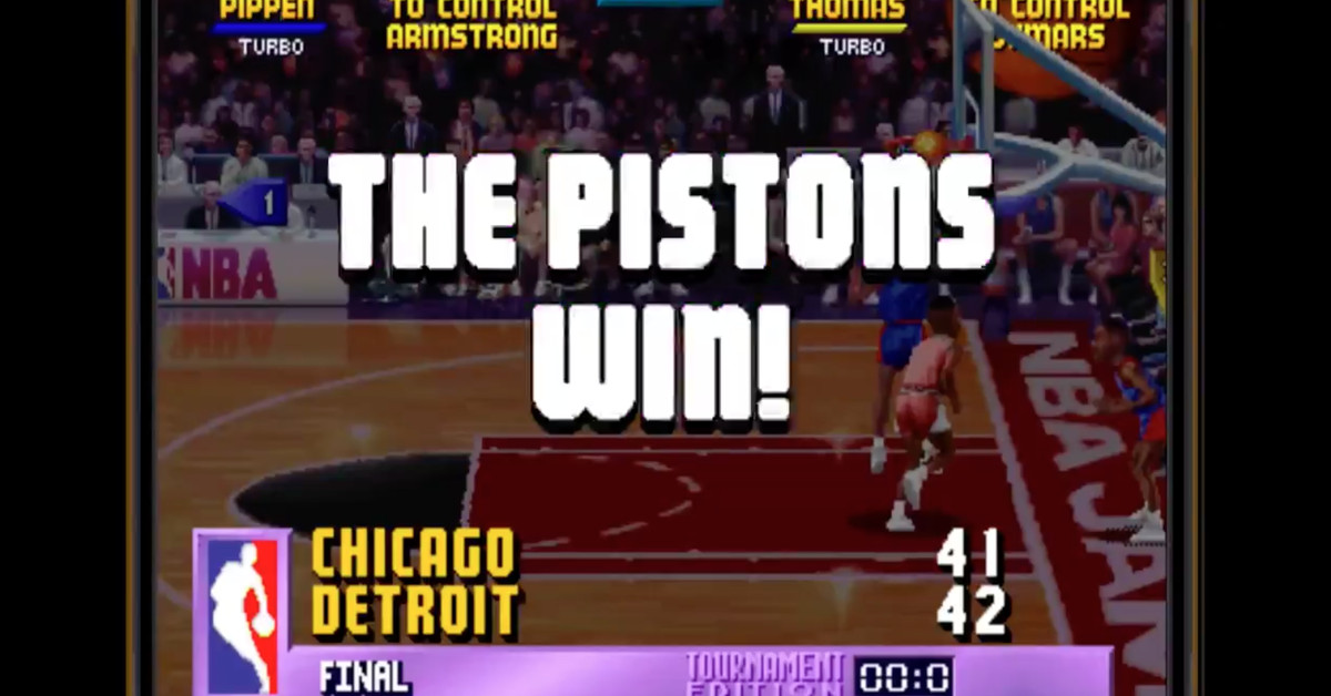 Photo of The creator of 'NBA Jam' admits that the Pistons are a cheat