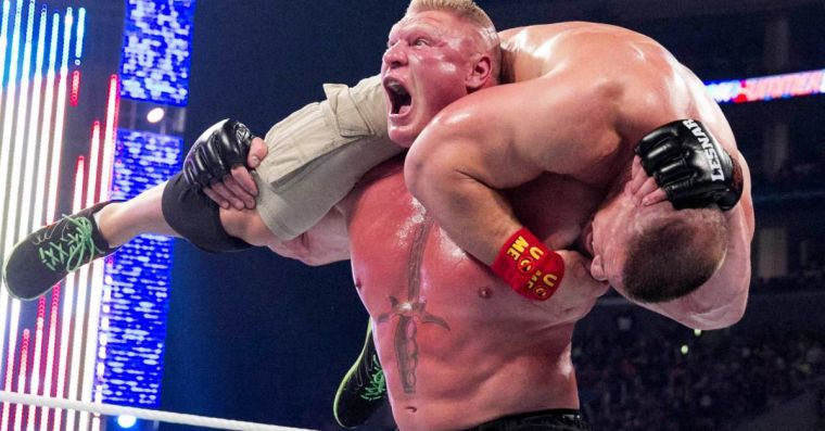 Triple H's WrestleMania updates on Lesnar & Cena fit each guy to a T