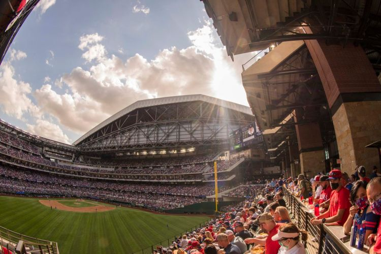 Game No. 23 - Los Angeles Angels @ Texas Rangers - Lone ...