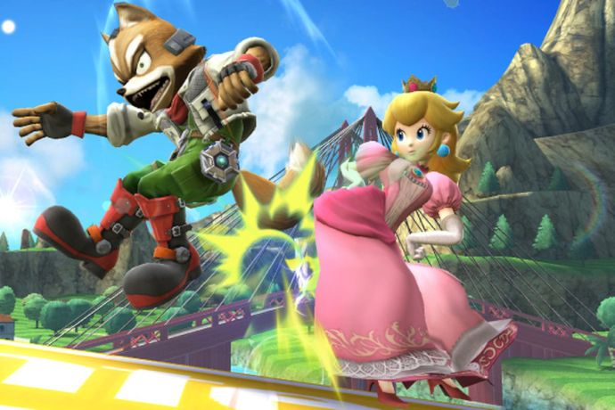 Image result for princess peach fighting in game